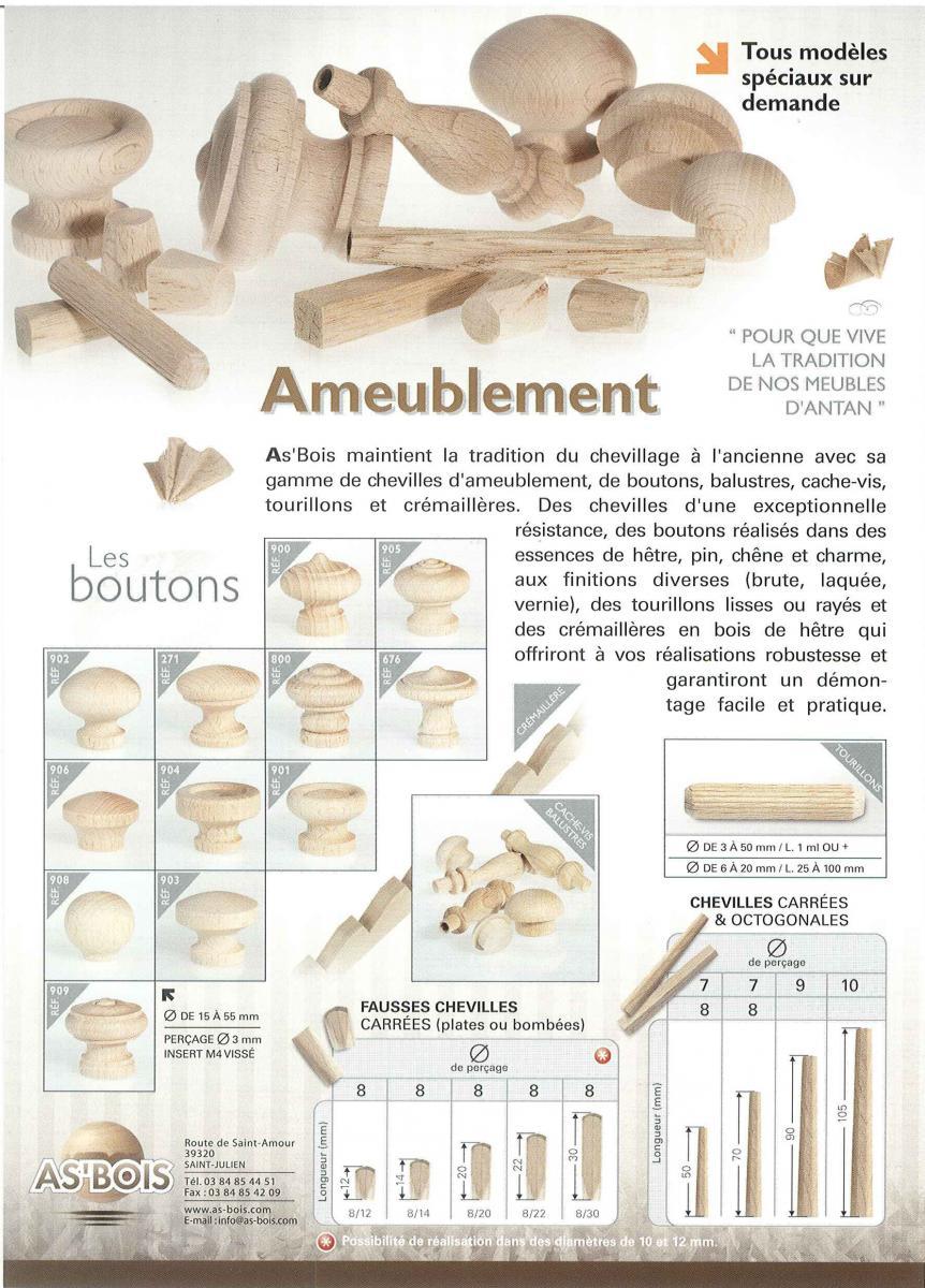 outlet à vendre 100% qualité garantie nouveaux styles Quincaillerie d'ameublement | AS Bois